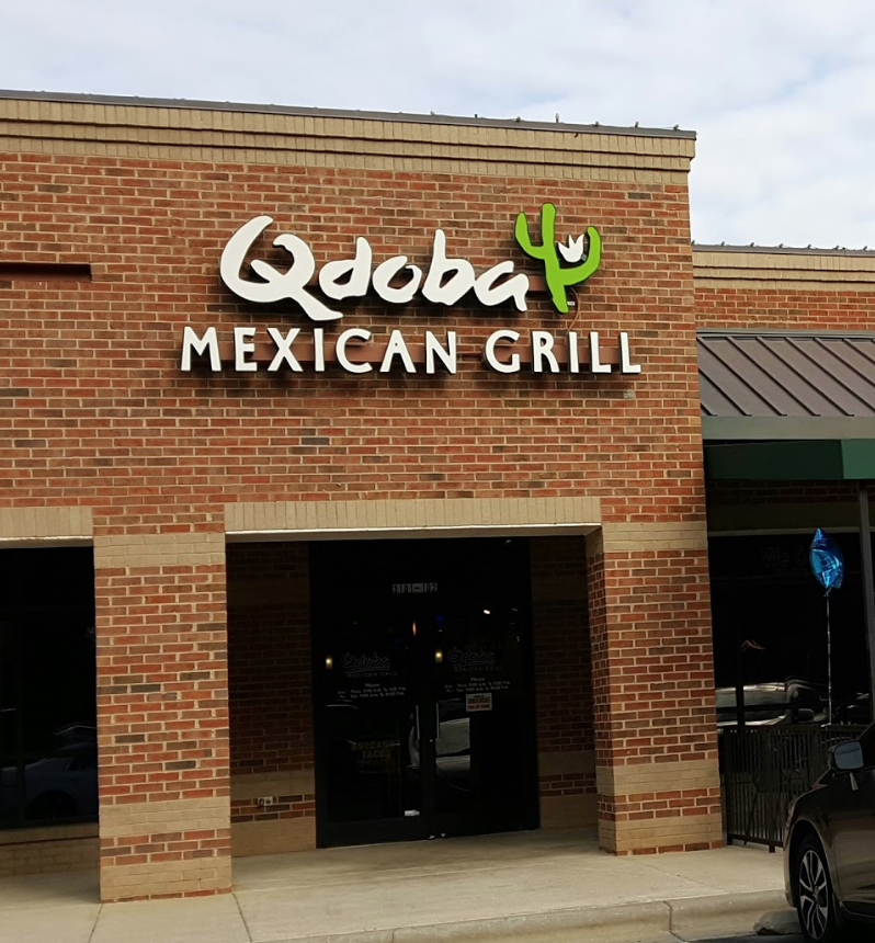 Qdoba Edwards Mill Rd.